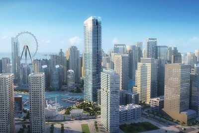 DUBAI LUXURY A one-of-a-kind residential tower that redefines the marina district