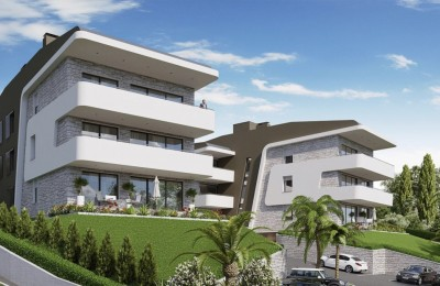 Opatija project, 10 luxury apartments, 18 parking spaces, 450 m from the sea