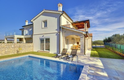 Lovely house with pool, sea view, Novigrad, Istria, Croatia