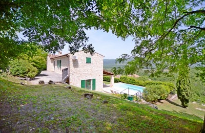 A PRIVATE VILLA WITH A VIEW ON MOTOVUN